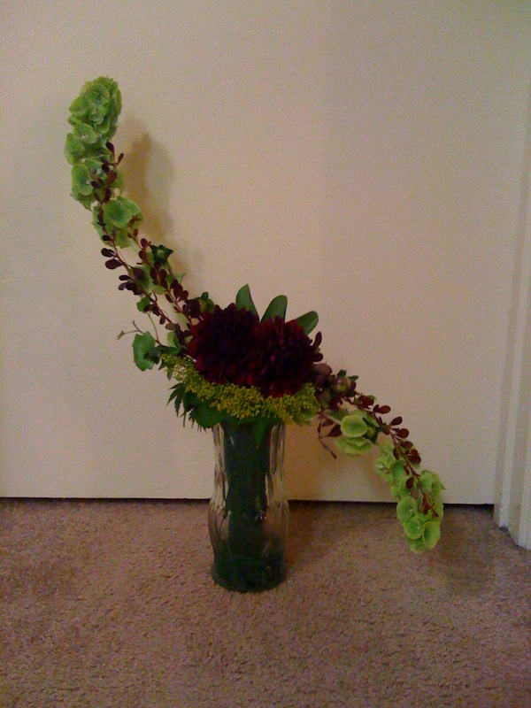 Floral Design Class: Hogarth Curve and Ikebana - Megan ...